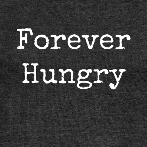 forever hungry - Women's Boat Neck Long Sleeve Top