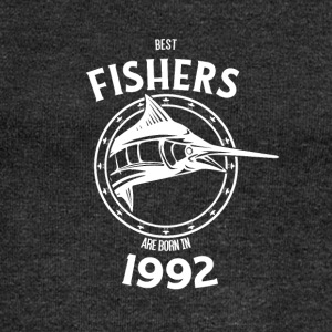 Present for fishers born in 1992 - Women's Boat Neck Long Sleeve Top