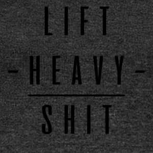 LIFT HEAVY SHIT - Women's Boat Neck Long Sleeve Top