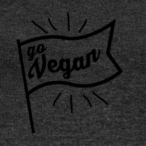 Become a vegan! - Women's Boat Neck Long Sleeve Top