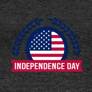 Fourth of July Independence day - Women's Boat Neck Long Sleeve Top