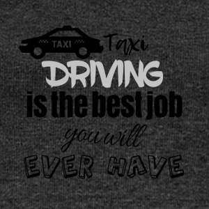 Taxi driving is the best job you will ever have - Frauen Pullover mit U-Boot-Ausschnitt von Bella
