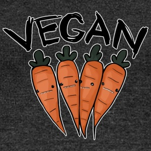 Vegan Carrot - Women's Boat Neck Long Sleeve Top