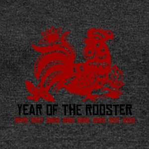 Years of The Rooster - Women's Boat Neck Long Sleeve Top