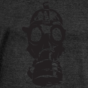 gas mask - Women's Boat Neck Long Sleeve Top
