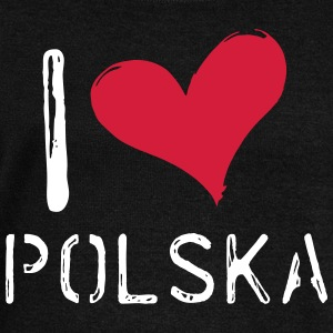 I love Polska - Women's Boat Neck Long Sleeve Top