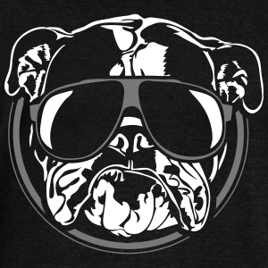 COOL Bulldog Anglais - English Bulldog - Pull Femme col bateau de Bella
