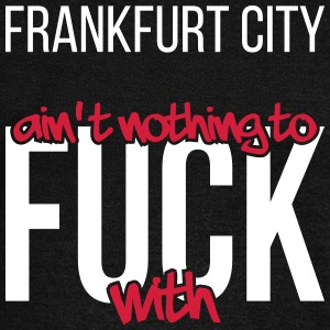Frankfurt City is not nothing to fuck with - Women's Boat Neck Long Sleeve Top