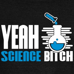 Yeah Science Bitch Chemistry - Women's Boat Neck Long Sleeve Top