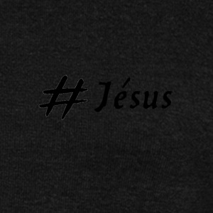 Hashtag Jesus (black logo) - Women's Boat Neck Long Sleeve Top