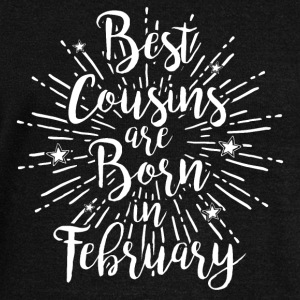 Best cousins ​​are born in February - Women's Boat Neck Long Sleeve Top