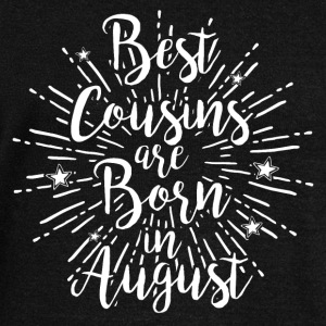 Best cousins ​​are born in August - Women's Boat Neck Long Sleeve Top