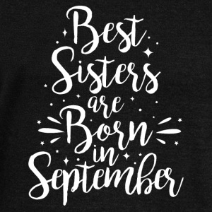 Best sisters are born in September - Frauen Pullover mit U-Boot-Ausschnitt von Bella