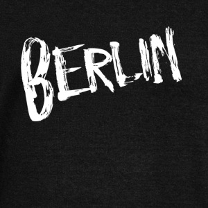 Berlin font - Women's Boat Neck Long Sleeve Top