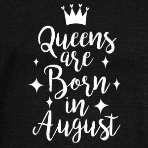 Queens are born in August - Women's Boat Neck Long Sleeve Top