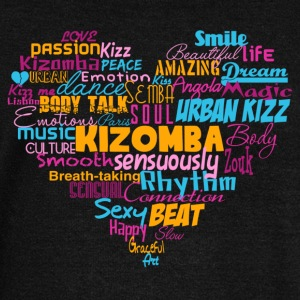 Kizomba Heart Shirt color - Mambo New York - Women's Boat Neck Long Sleeve Top