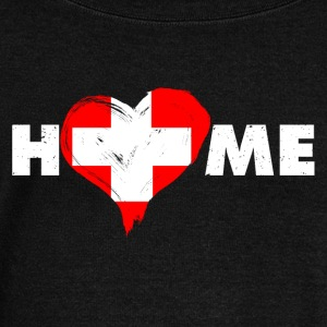 Home love Switzerland - Women's Boat Neck Long Sleeve Top