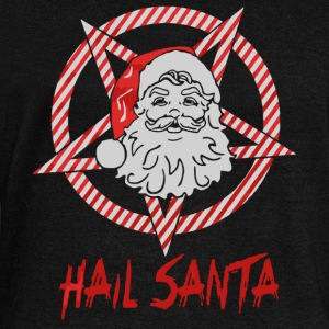 Hail Santa Xmas shirt - Women's Boat Neck Long Sleeve Top