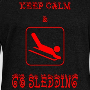 GO_SLEEDING - Women's Boat Neck Long Sleeve Top