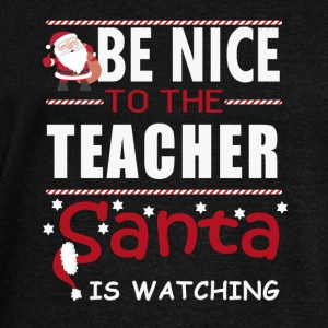 Be nice to the teacher - Women's Boat Neck Long Sleeve Top