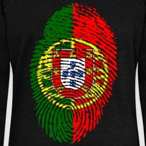 PORTUGAL / PORTUGIESE FINGERABPRESSION - Women's Boat Neck Long Sleeve Top