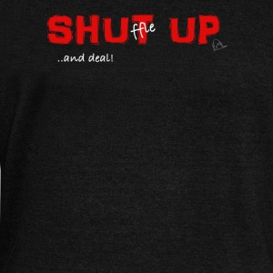 Shuffle up and deal! Poker T-shirt - Felpa con scollo a barca da donna, marca Bella