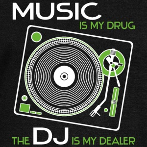 music is my drug - the dj is my dealer green - Frauen Pullover mit U-Boot-Ausschnitt von Bella