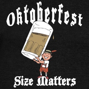 Oktoberfest Size Matters - Women's Boat Neck Long Sleeve Top