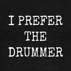 I prefer the drummer - Women's Boat Neck Long Sleeve Top