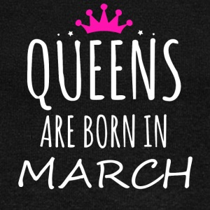 Queens are born in March - Women's Boat Neck Long Sleeve Top