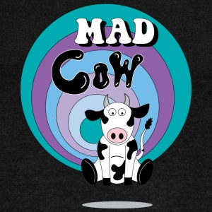 Mad Cow - Women's Boat Neck Long Sleeve Top
