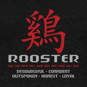 Chinese Year of The Rooster Years Characteristics - Women's Boat Neck Long Sleeve Top