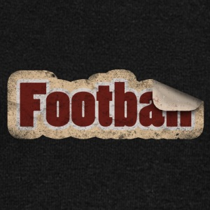 Football Stickers - Women's Boat Neck Long Sleeve Top