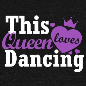 This queen loves dancing - Women's Boat Neck Long Sleeve Top