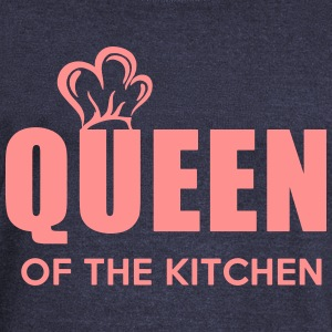 Queen of the Kitchen - Bluza damska Bella z dekoltem w łódkę