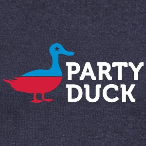 Political Party Animals: Duck - Women's Boat Neck Long Sleeve Top
