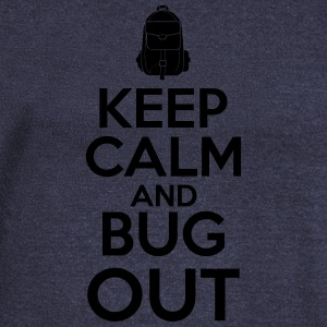 Keep Calm and Bug Out - Frauen Pullover mit U-Boot-Ausschnitt von Bella