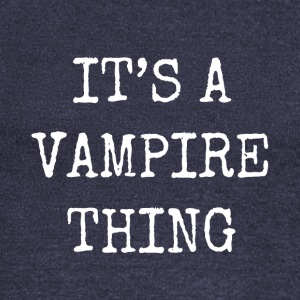 it's a vampire thing - Women's Boat Neck Long Sleeve Top