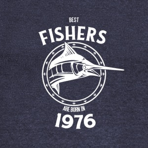 Present for fishers born in 1976 - Women's Boat Neck Long Sleeve Top