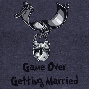 Game Over Getting Married - Pull Femme col bateau de Bella