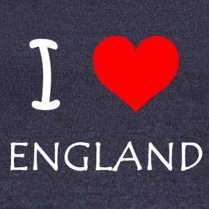 I Love ENGLAND - Women's Boat Neck Long Sleeve Top