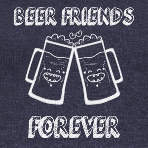 Beer Friends Forever - Women's Boat Neck Long Sleeve Top