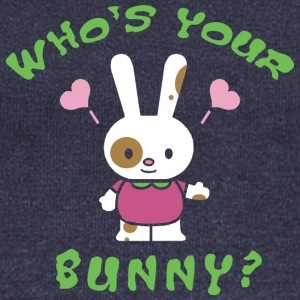 Easter Who's Your Bunny - Women's Boat Neck Long Sleeve Top