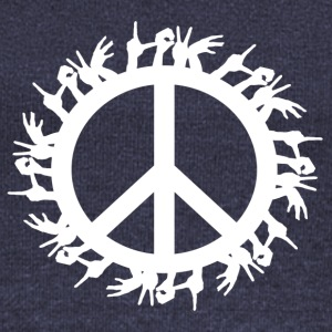 ++ ++ Love & Peace - Women's Boat Neck Long Sleeve Top