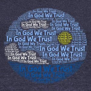 In God We Trust with Tagul Style - Women's Boat Neck Long Sleeve Top