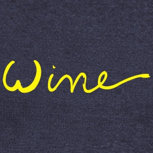 Wine art logo YELLOW - Women's Boat Neck Long Sleeve Top