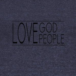 Love God Love People - Women's Boat Neck Long Sleeve Top
