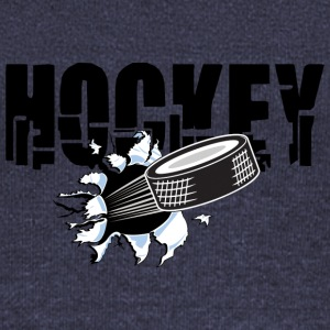 HOCKEY PUCK - Women's Boat Neck Long Sleeve Top