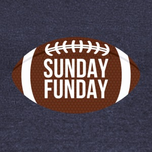 Football: Sunday Funday - Women's Boat Neck Long Sleeve Top