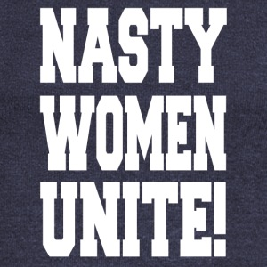 Nasty Women Unite! Anti Trump kvinner Stand Up! - Damegenser med båthals fra Bella